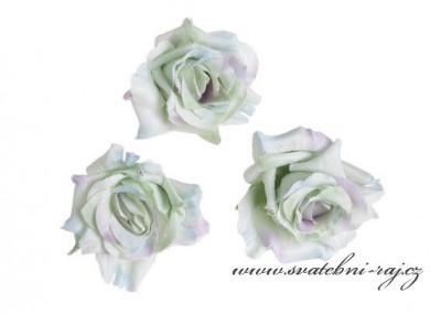Hlavičky růží mátové - 12 ks