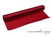 Jednostranný satén bordó, šíře 36 cm