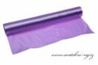 Jednostranný satén fialový, šíře 36 cm
