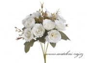 Kytice růžiček bílé