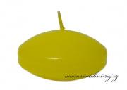 Zobrazit detail - Plovoucí svíčky světle žluté - 6 ks