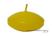 Zobrazit detail - Plovoucí svíčky žluté - 6 ks