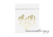 Zobrazit detail - Sáčky na sladkosti Mr and Mrs