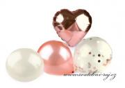 Zobrazit detail - Sada balónků ve starorůžové barvě