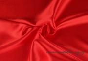 Satén červený, 150 cm šíře