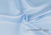 Satén světle modrý, 150 cm šíře