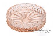 Zobrazit detail - Skleněný tácek pod svíčku šampaň