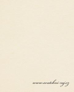 Strukturovaný papír smetanový
