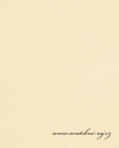 Strukturovaný papír v krémové barvě