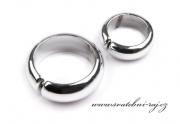 Zobrazit detail - Svatební prstýnky stříbrné - pár