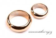 Zobrazit detail - Svatební prstýnky zlaté - pár
