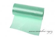 Jednostranný satén mint-green, šíře 12 cm
