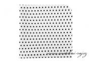 Zobrazit detail - Kapesníček bílý s puntíky