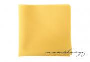 Zobrazit detail - Kapesníček žlutý matný