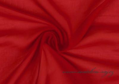 Šifonový voál červený