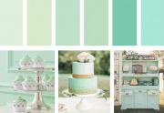Svatební barva roku 2020 je NEO-MINT!