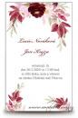 Zobrazit detail - Svatební oznámení s květinami