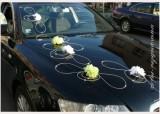 Ozdoba na svatební automobil