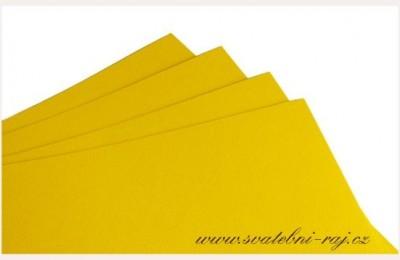 Grafický papír žlutý