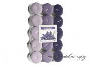 Zobrazit detail - Čajové svíčky - 30 ks - Lavender