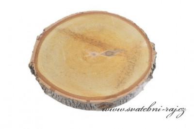 Dřevěná kulatina, průměr 21 cm