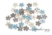 Zobrazit detail - Dřevěné konfety květinky