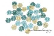 Zobrazit detail - Dřevěné konfety mandala