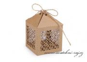 Zobrazit detail - Krabička přírodní na cukrovinky