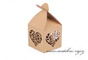 Zobrazit detail - Kraftová krabička na cukrovinky