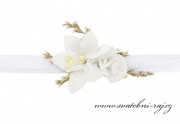 Zobrazit detail - Náramek s květinami