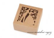 Zobrazit detail - Přírodní krabička na cukrovinky