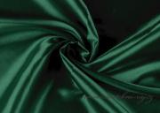 Satén tmavě zelený, 150 cm šíře