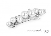 Zobrazit detail - Spona do vlasů s perlami