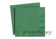 Zobrazit detail - Ubrousky tmavě zelené