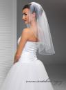 Zobrazit detail - Svatební závoj - 70 cm délka