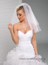 Zobrazit detail - Svatební závoj bez lemu - 50/60 cm