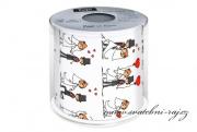 Zobrazit detail - Toaletní papír svatební den