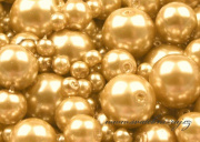 Zobrazit detail - Voskové perličky zlaté