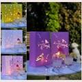 Svítilna sáček fialový