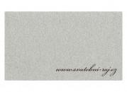 Zobrazit detail - Svatební koberec světle šedý - šíře 1 m