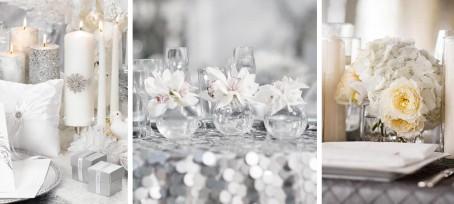Svatební dekorace ve stříbrné barvě. 4a3a8a8bdd8